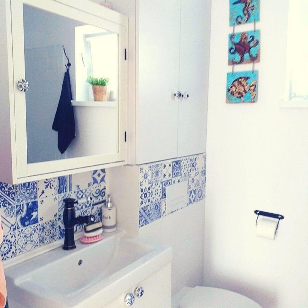 Lazur - łazienka